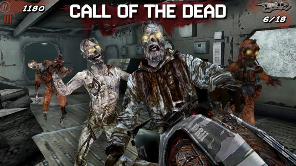 Механика иры Call of Duty Black Ops Zombies