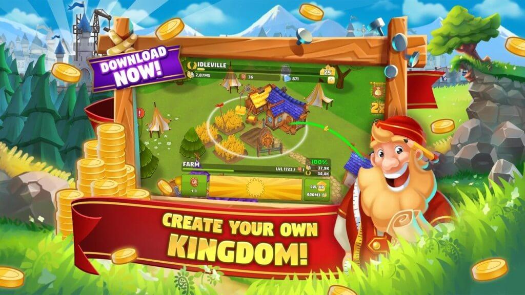 Подробнее об игре Idle Kingdom Builder