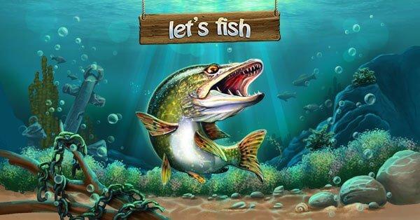 На рыбалку для Android (Lets Fish)