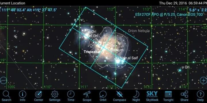 SkySafari 6 Pro - исследуйте вселенную