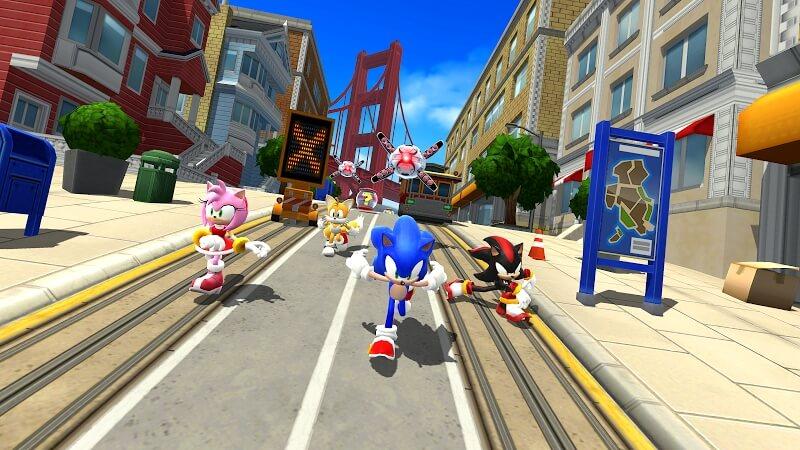 Подробнее об игре Sonic Forces на андроид