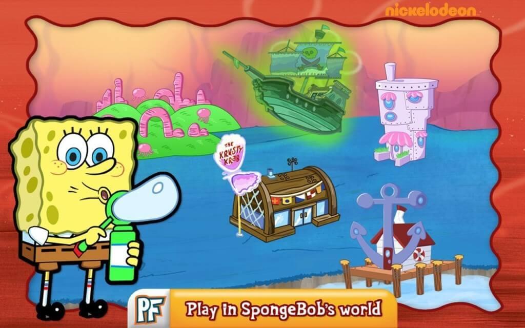 Сюжет в SpongeBob Diner Dash
