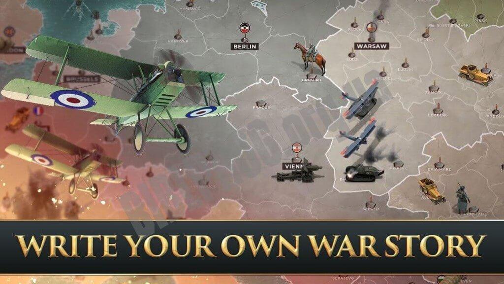Supremacy 1914 - глубокая стратегическая игра