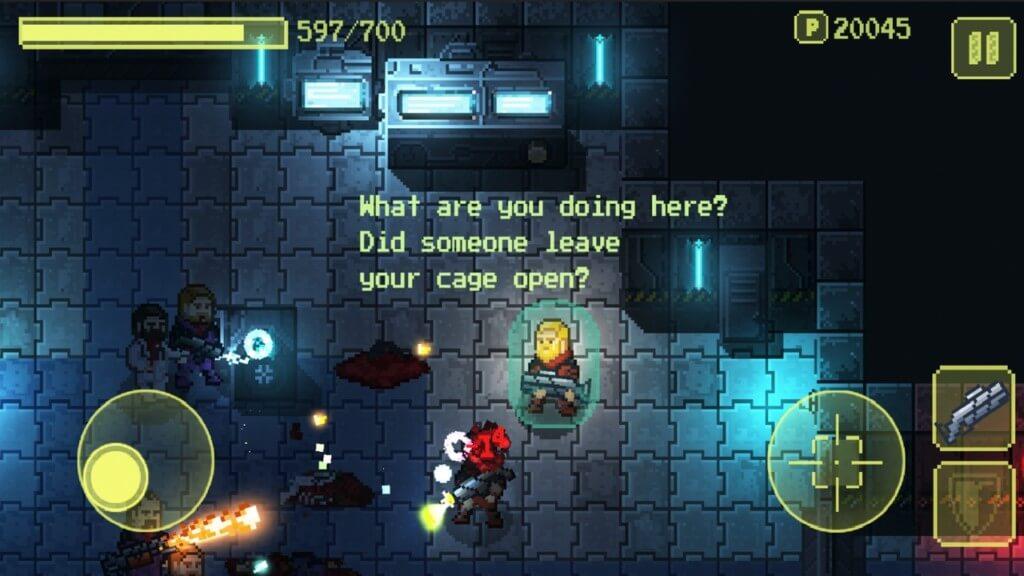 Ailment на андроид - одна из лучших игр с пиксельной графикой