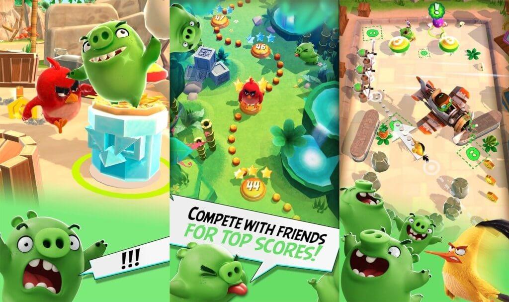 Сюжет в Angry Birds Action