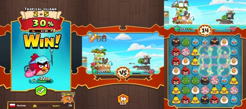 Подробнее об игре Angry Birds Fight