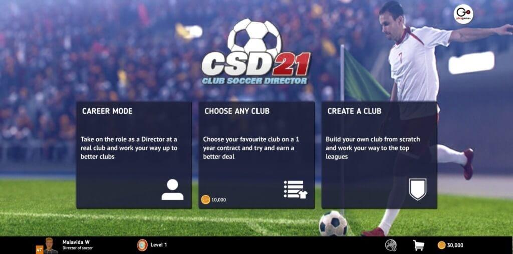 Club Soccer Director 2021 - создайте команду своей мечты