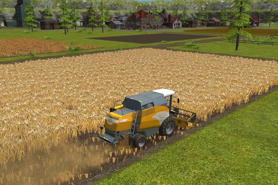 Механика в Farming Simulator 16 на андроид