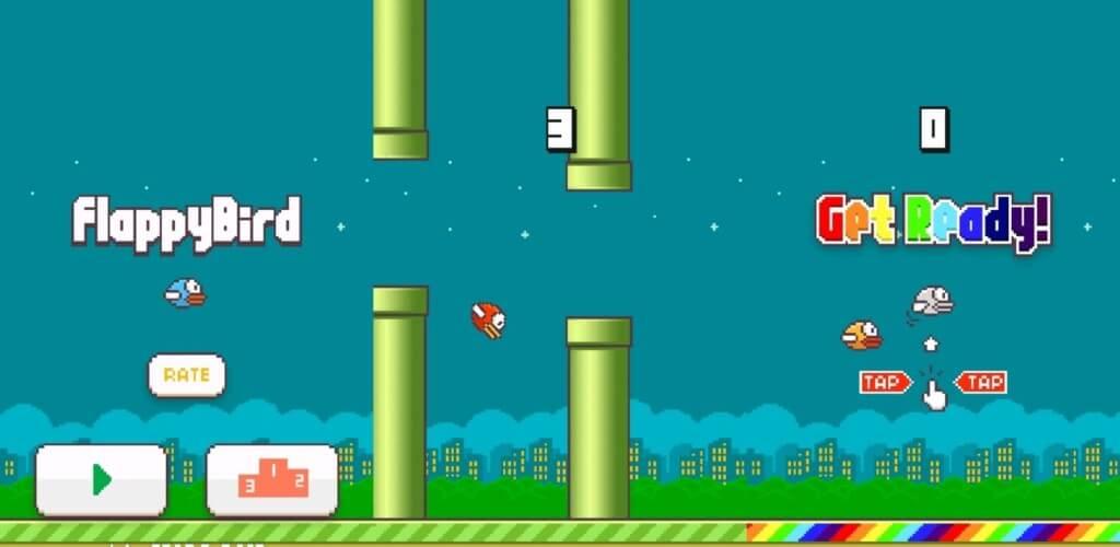 Механика игры Flappy Bird