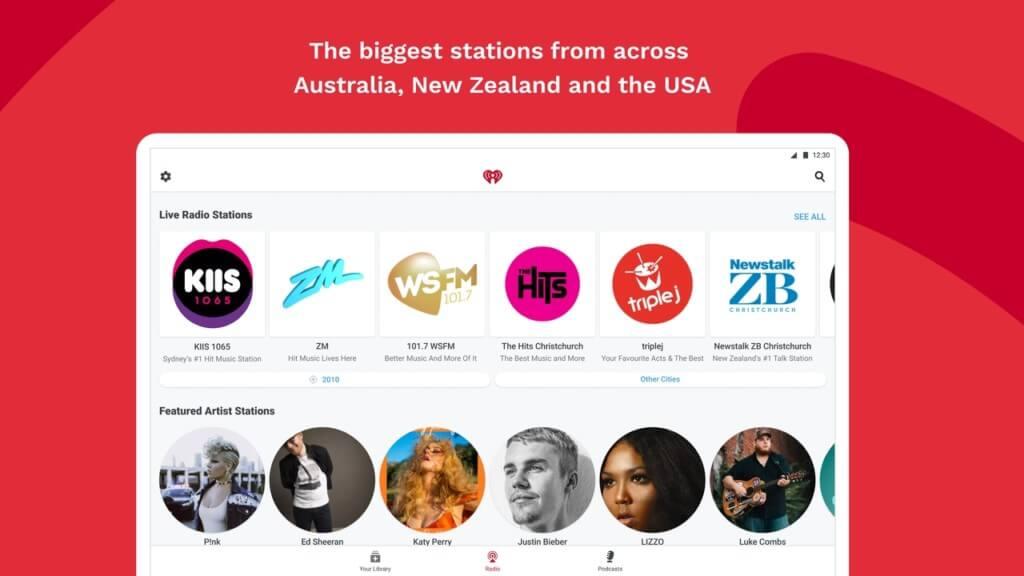 iHeartRadio - слушайте свои любимые подкасты