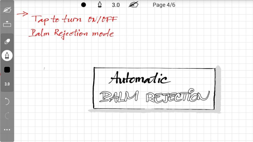 INKredible - простой интерфейс, легкий для понимания и простой в использовании