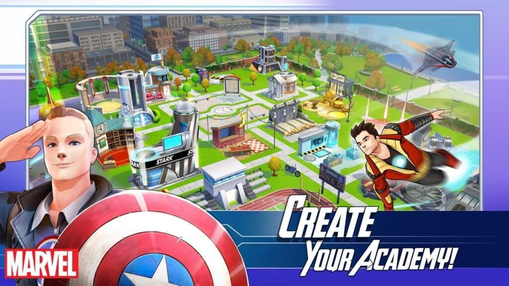 Сюжет в Marvel Avengers Academy