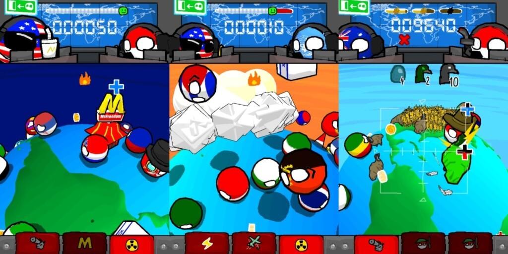 Механика игры Polandball Not Safe For World
