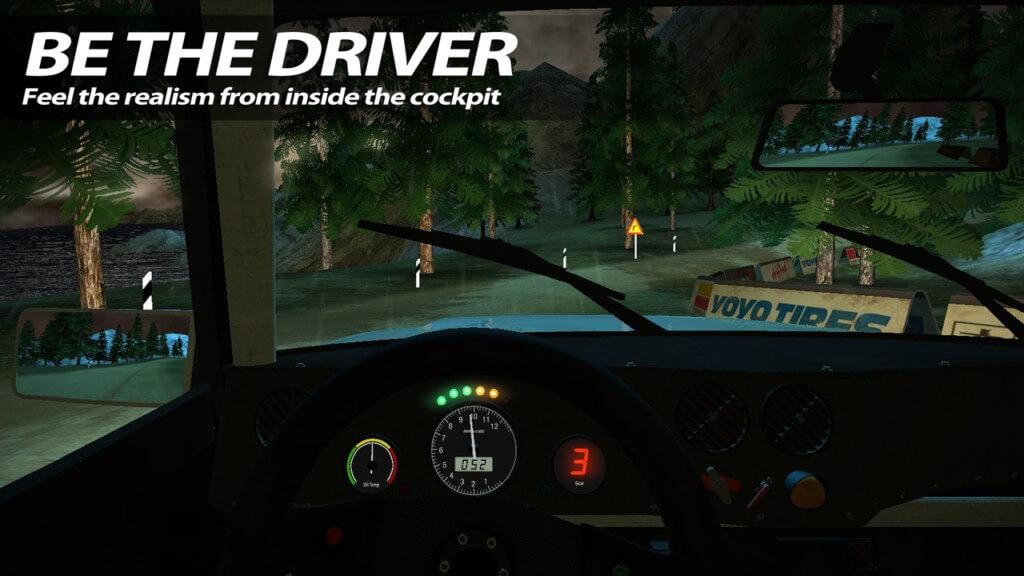 Механика игры Rush Rally 2 для Android