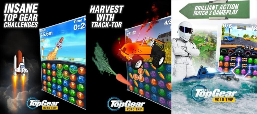 Механика игры Top Gear: Road Trip