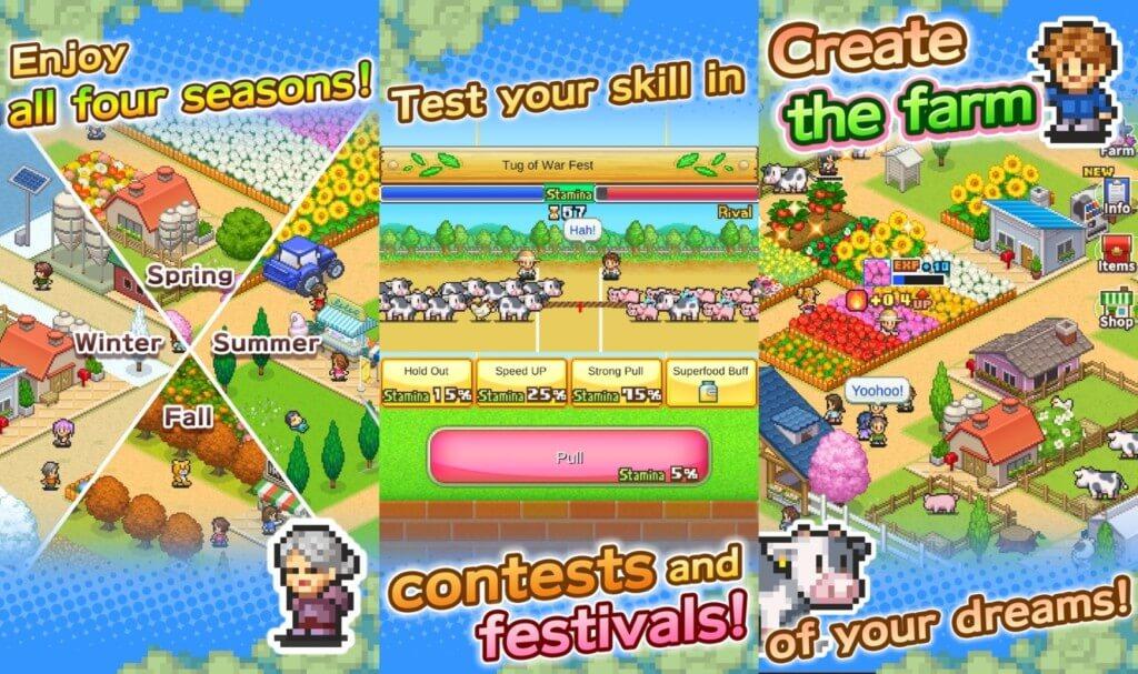 Механика игры в 8-Bit Farm