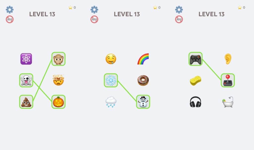 Emoji Puzzle - сложные головоломки