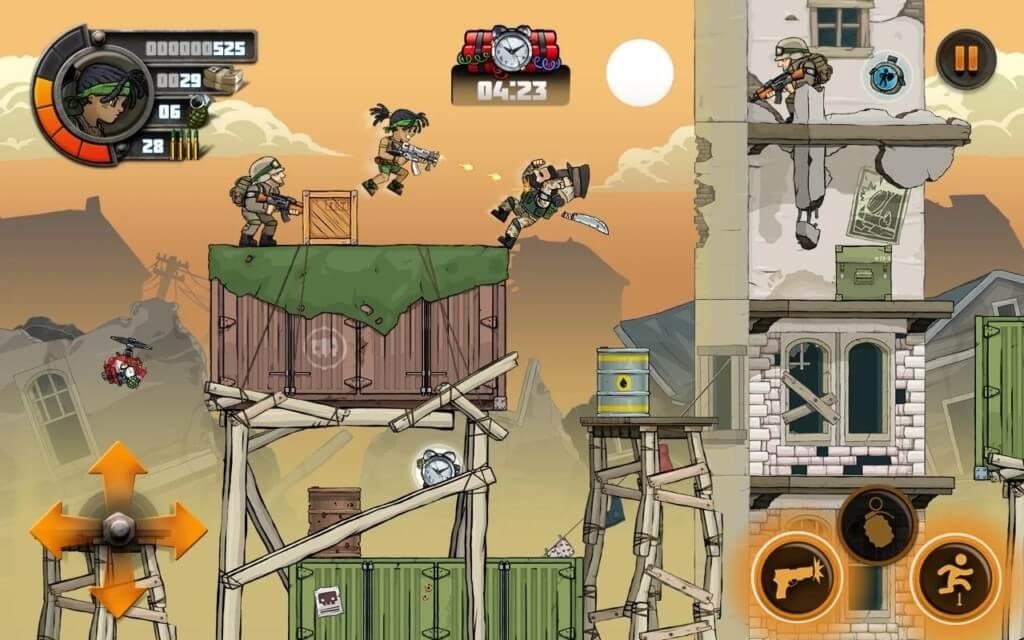 Подробнее об игре Metal Soldiers 2
