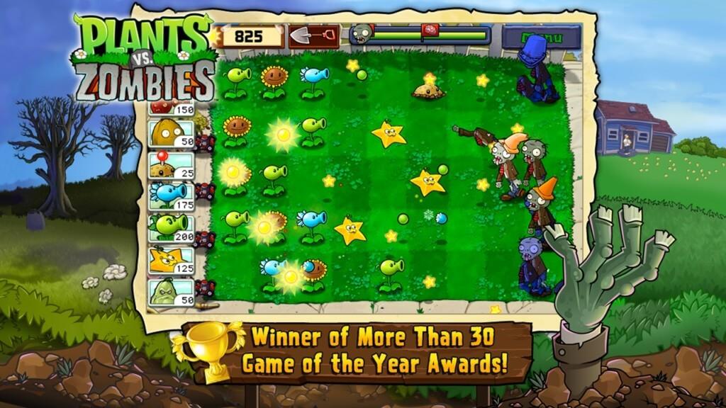 Подробнее об игре Plants vs. Zombies на андроид