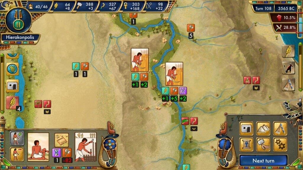 Про сюжет в Predynastic Egypt