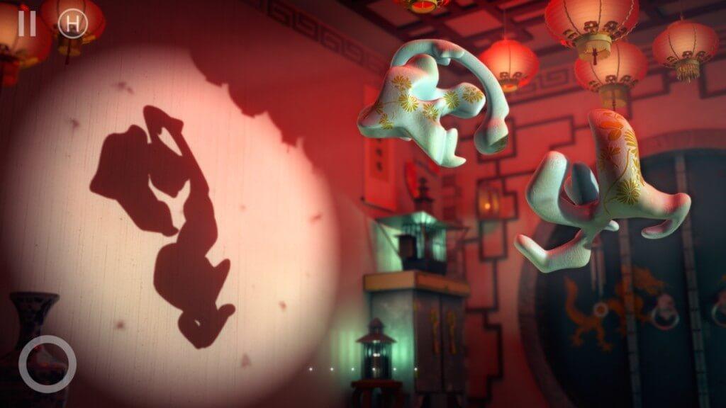 Механика игры Shadowmatic