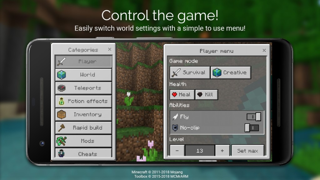 Что умеет Toolbox для Minecraft?