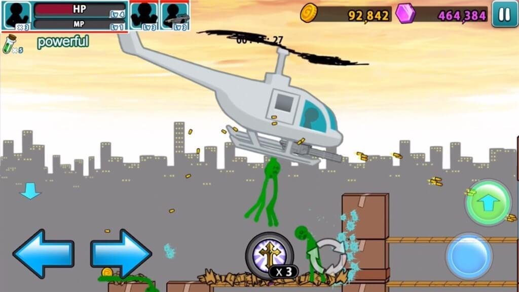 Anger of stick 5 zombie - интересная игра