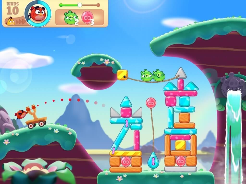 Механика игры Angry Birds Journey