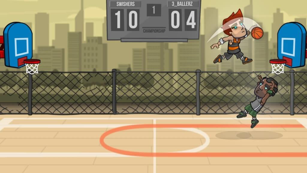 Basketball Battle - соберите знаменитых суперзвезд