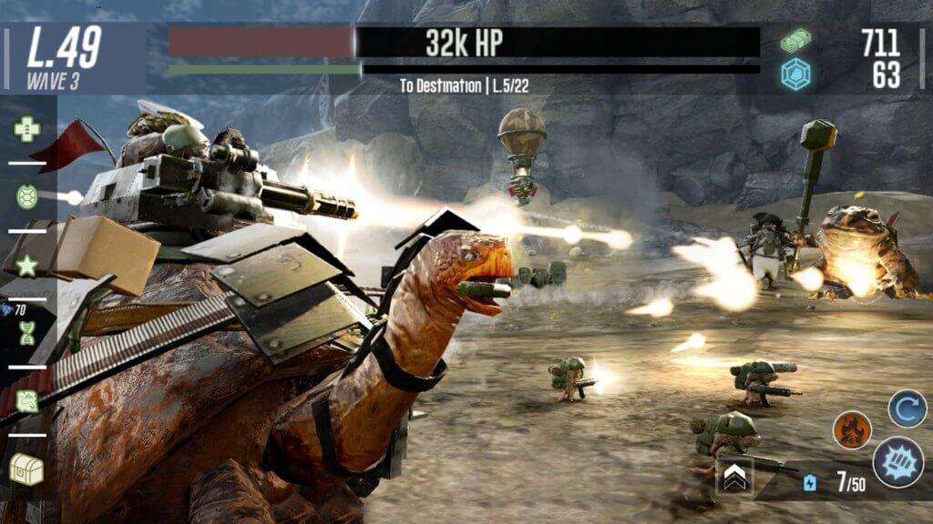 Боевые черепахи 2 - интуитивное управление
