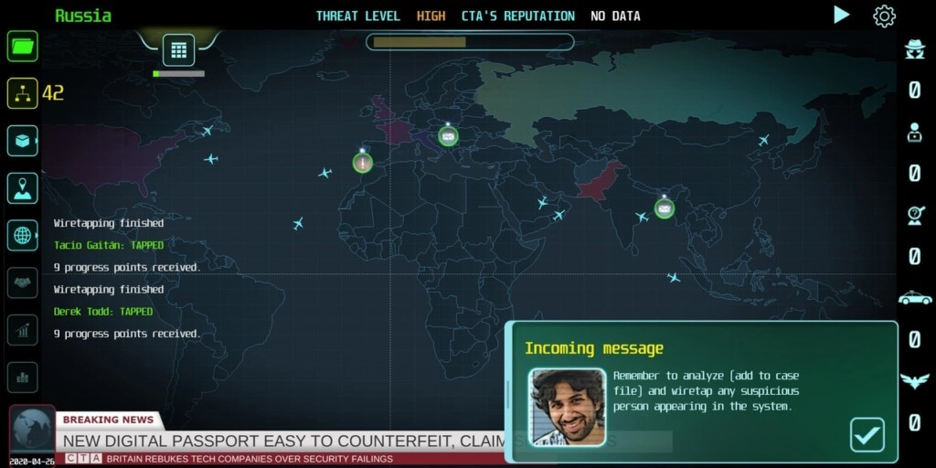 Механика игры Counter Terrorist Agency