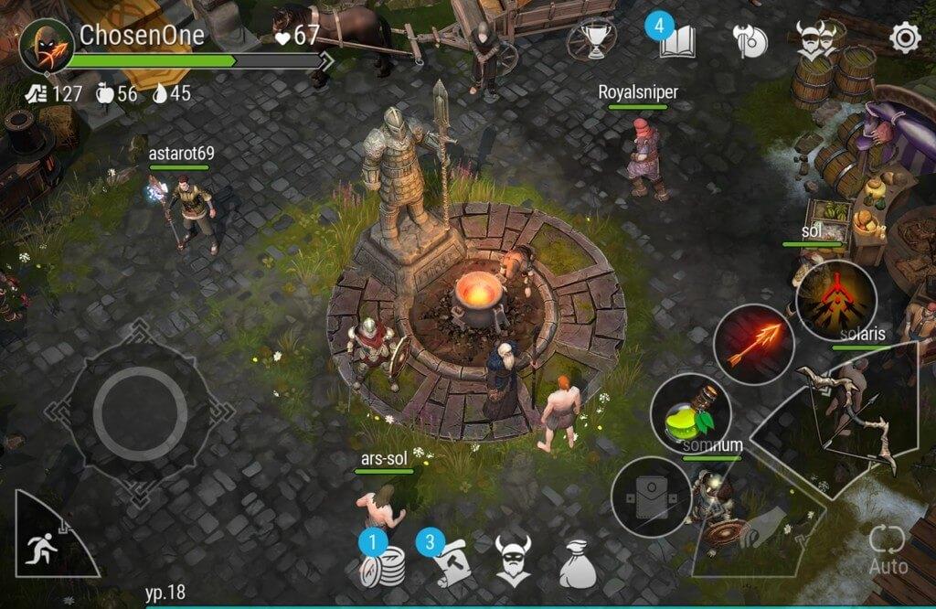 Frostborn Coop Survival - древняя мифология