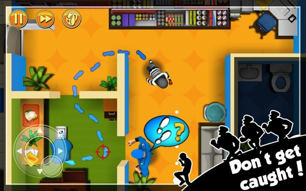 Robbery Bob на андроид - забавный геймплей