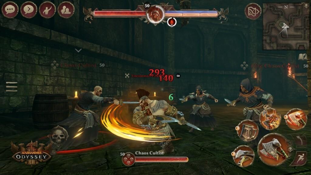 Про сюжет в Warhammer Odyssey на андроид