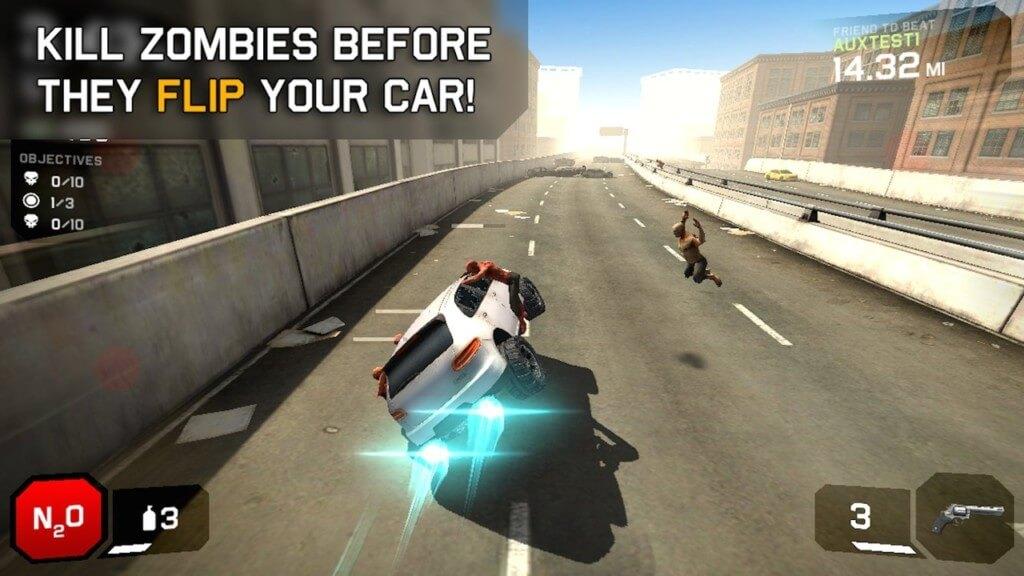 Механика игры Zombie Highway 2