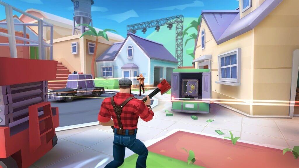 Графика в игре Blockbusters на андроид