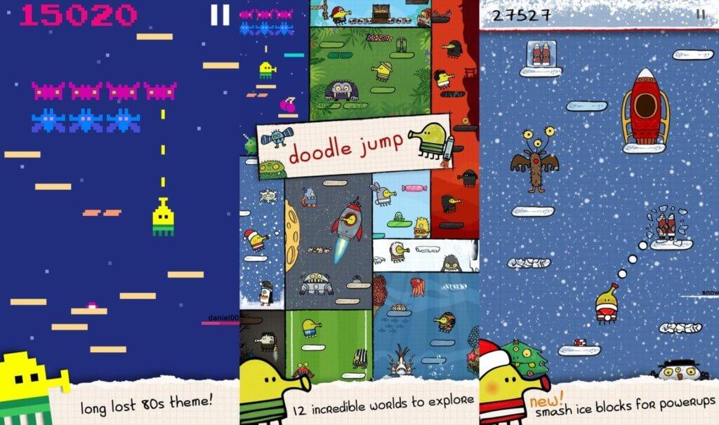Подробнее об игре Doodle Jump