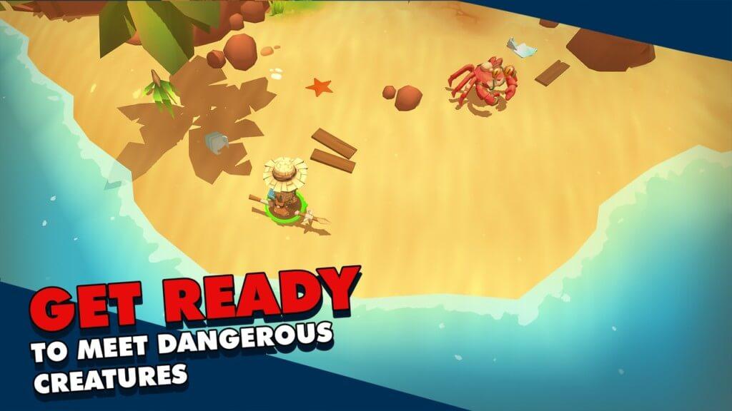 Геймплей игры Epic Raft