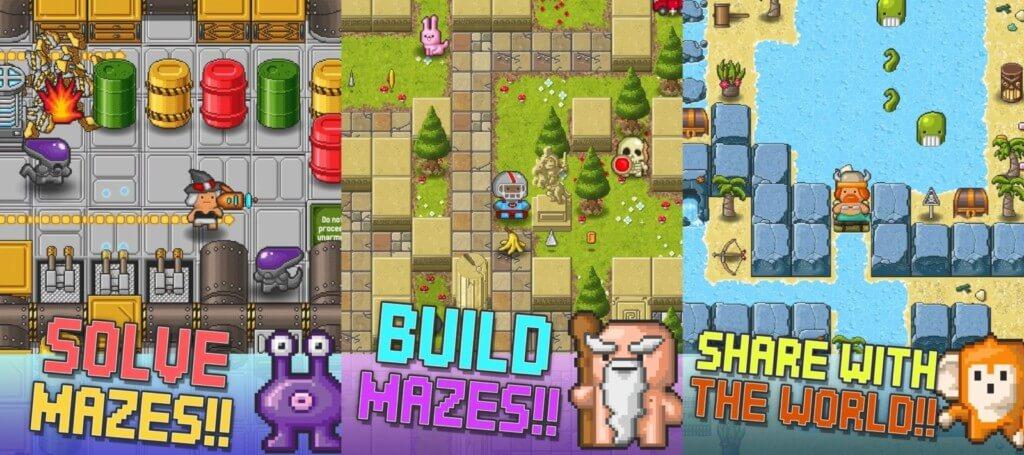 Подробнее об игре Mazecraft
