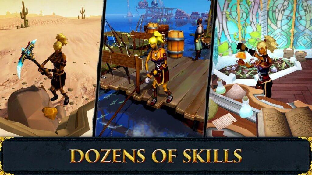 Подробнее об игре RuneScape Mobile