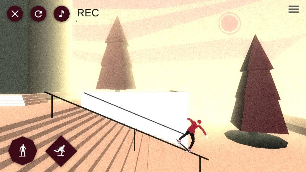 Подробнее об игре Skate Lines