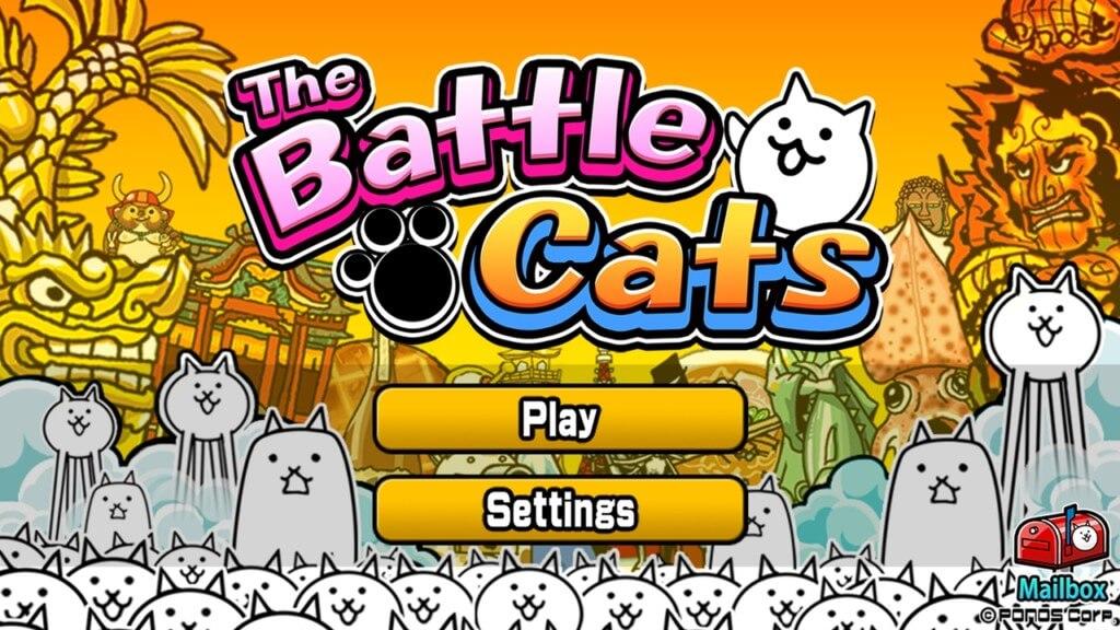 Простой геймплей в The Battle Cats на андроид