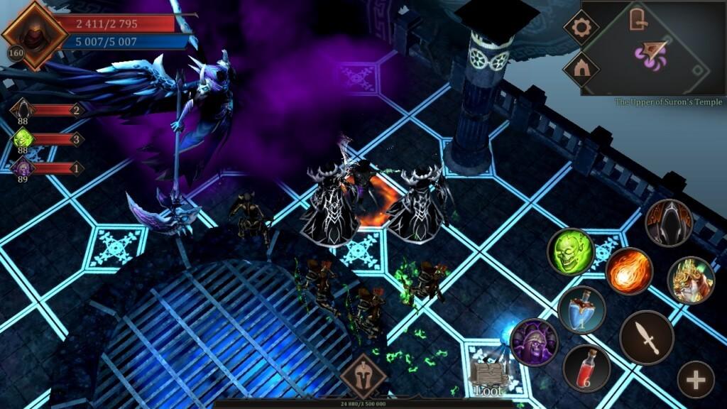 Геймплей игры Vengeance RPG