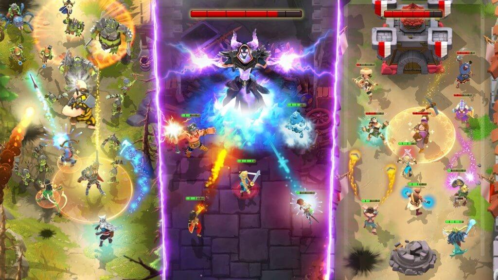 Механика игры Darkfire Heroes