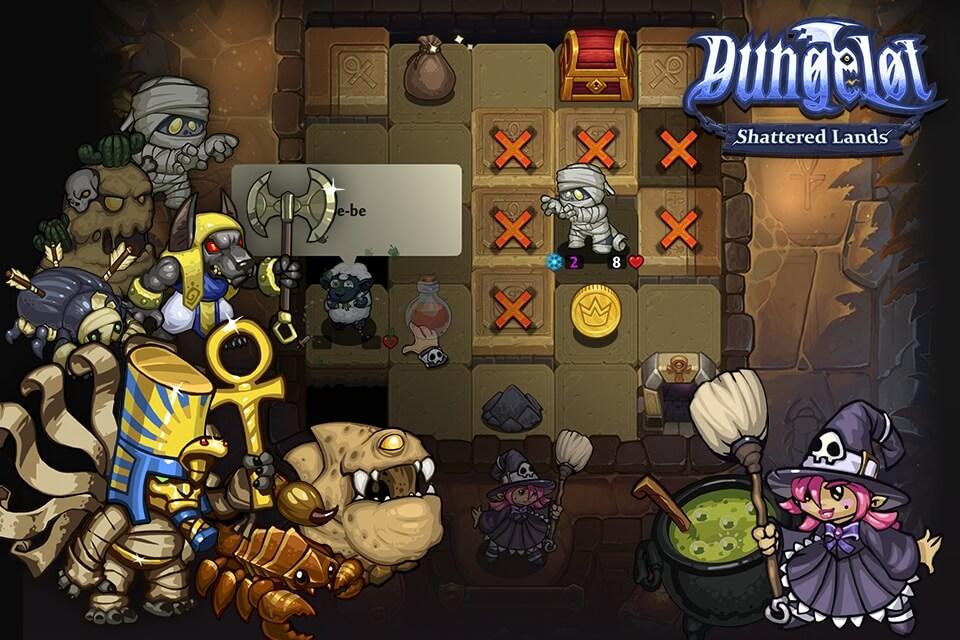Про сюжет в Dungelot Shattered Lands
