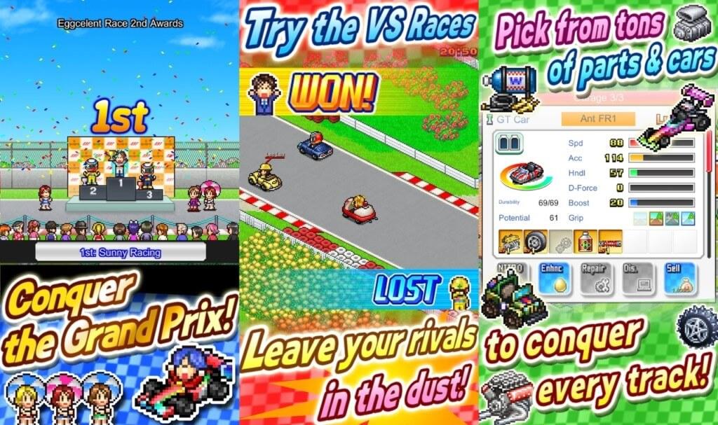 Геймплей игры Grand Prix Story 2