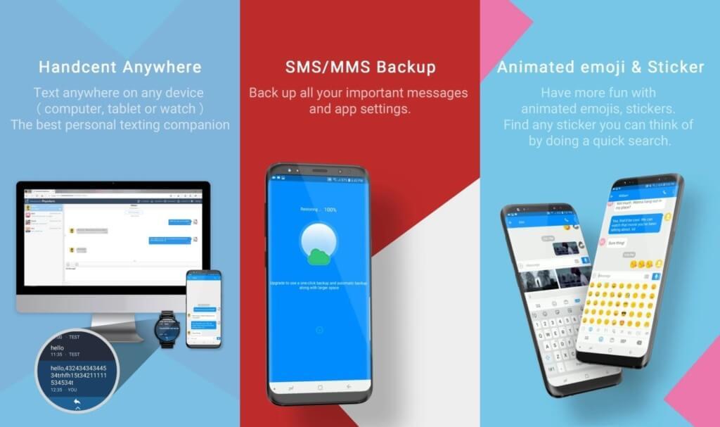 Подробнее о приложении Handcent Next SMS