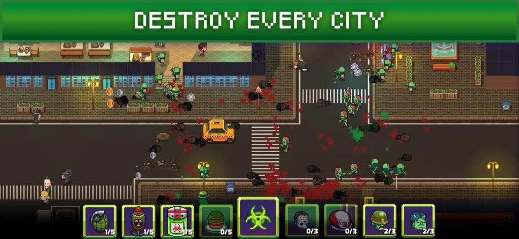 Infectonator 3: Apocalypse - сражайтесь с людьми, чтобы завоевать Землю