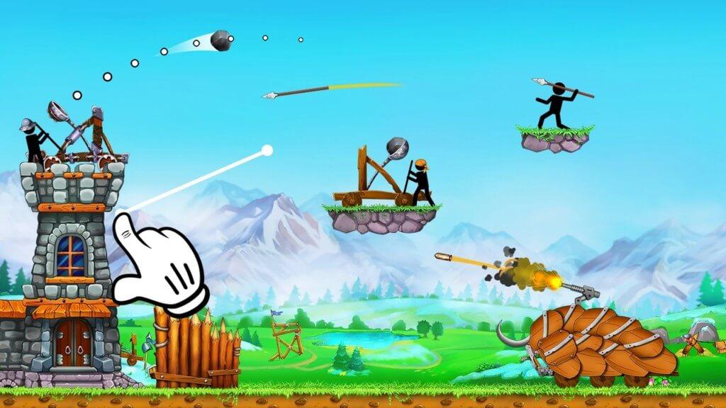 Катапульта 2 - захватывающая игра в жанре Tower Defense