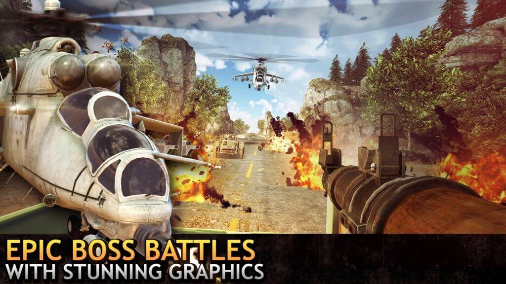 Геймплей игры Last Hope Sniper